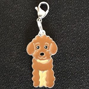 Jewelry - Brown poodle 🐩 clip charm